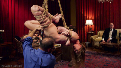 Four naked submissive girls serve & fuck in a bdsm orgy of lifestyle players, mean mi