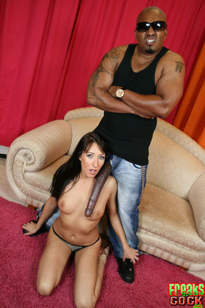 Sexy darling Katrina Isis getting pounded hardcore in interracial sex