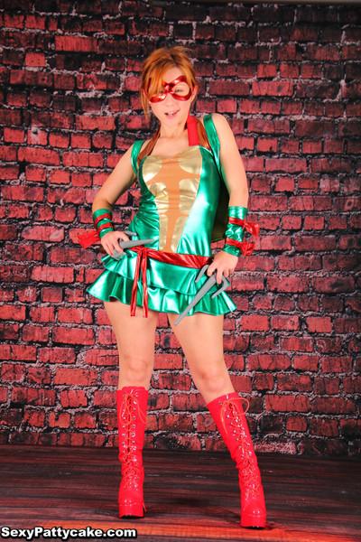 Redhead tmnt cosplay