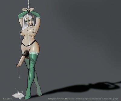 Sex cartoon shemale elfs