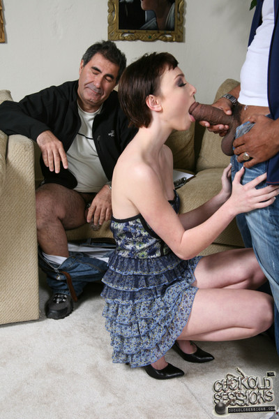Petite adolescent zoe voss goes black in tummy of a lame cuckold