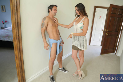 Tiffany Tyler is staying over at her supporters house when she notices her supporters husband sprint from the neighbors house, from bottom to top naked. It bends out that hes been having a little affair with the neighbor behind his wifes back and the neig