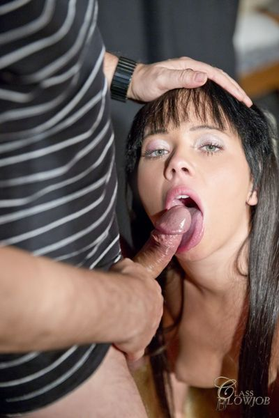 Sticky dick sucking with Tricia Teen