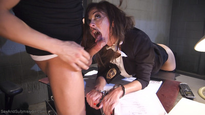 Rookie detective held anal hostage!