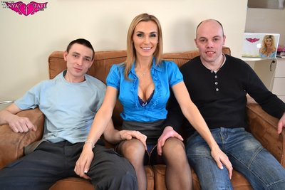 John Dave Giving The Thumbs Up On Tanya Tate Casting Couch
