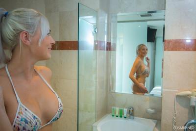 Kj in the shower