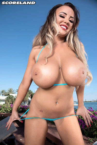 Englands danniella levy bikini body and enormous tits
