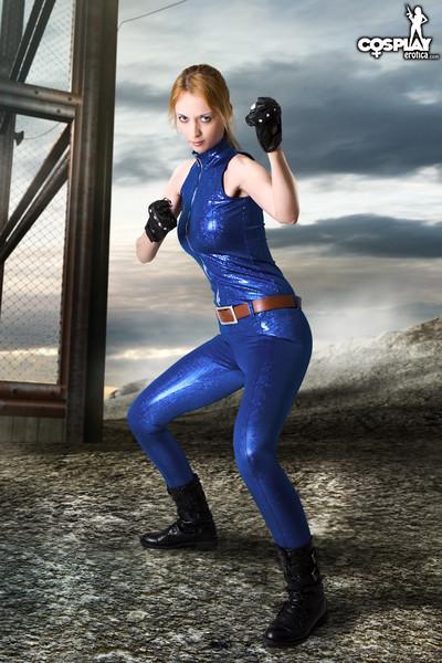 Cosplayerotica  sarah bryant virtua fighter nude cosplay