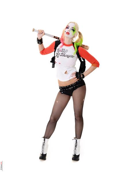 Estonika harley quinn cosplay xxx