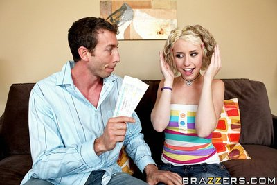 Proxy is exclusively going out with Jordan for his money. This dude s all too happy to become her sugar teacher as aspire as he attains laid. However, Proxy is holding out until Jordan pays her tuition. Knowing he has a big cock, Proxy convinces her twin