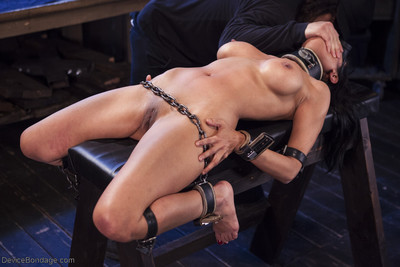 Hot as fuck, beretta james, is punished in passionate devices that have her complet