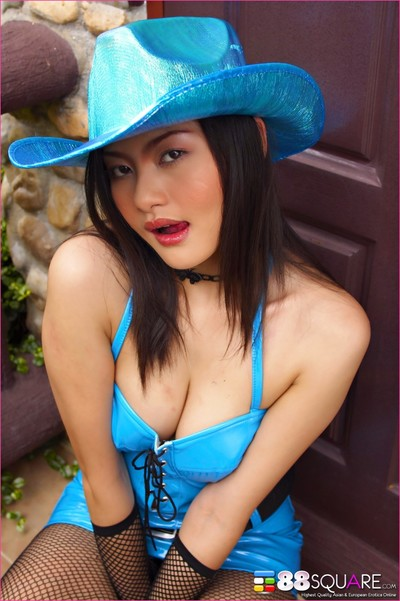 Mona choi is naughty cowgirl
