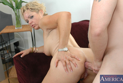 Kelly Leigh has hot copulation with guy who is friends with her son.
