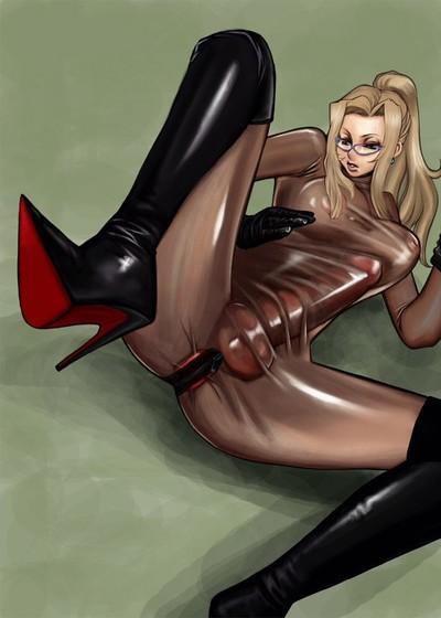 Dickgirls in latex