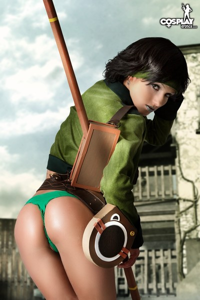 Cosplayerotica  jade beyond good and evil nude cosplay