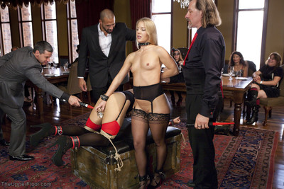 In the lounge the girls are put to precious use, but some of our guests are inspired