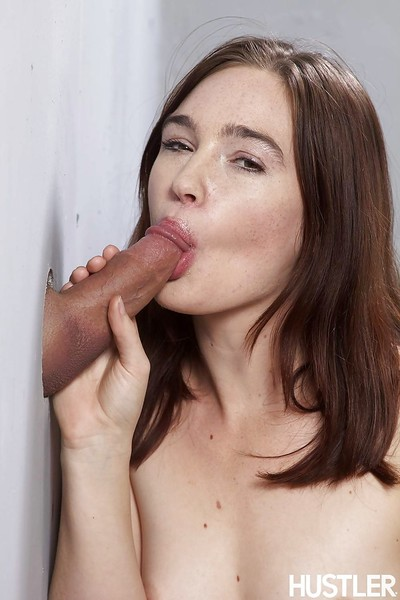 Gloryhole action with an perfect youthful pornstar Jodi Taylor and a vast cock