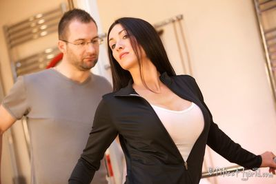 Miss Hybrid Puts Ed Throughout His Paces and Her Cleavage