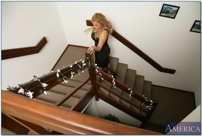 Vast titted MILF Shyla Stylez undressed to  and shafted hard