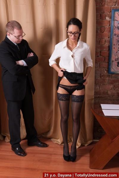 Secretary strip interview