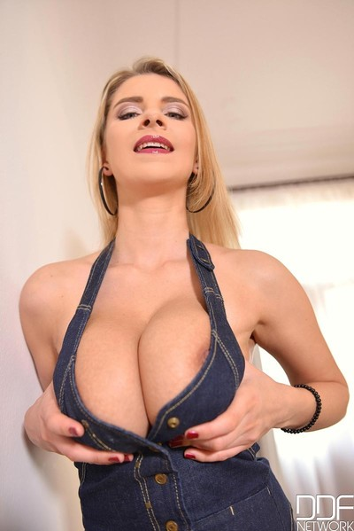 Busty juicy queen with enormous tits