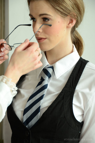 Admirable schoolgirl changing her clad with distinguish of her moist teacher