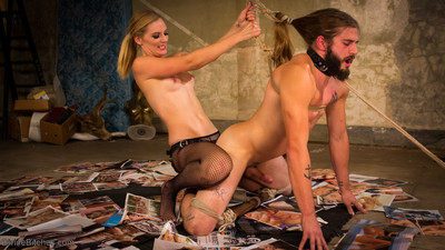 Mona wales lifts a truck stop perverts and throws him across the room then dives