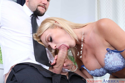 Inga victoria sucks and copulates her boss in his office