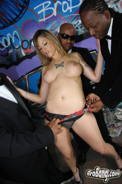 Tricia oaks gets gangbanged and bukkaked by black cocks