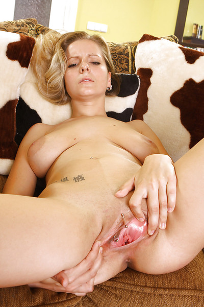 Untraditional babe Allysia with the tightest gentile made for entire fist very