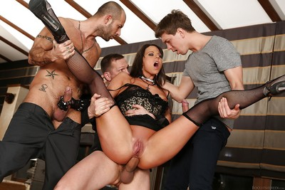 Euro brunette Simony Diamond sucks and digs a whole lot of ramrod