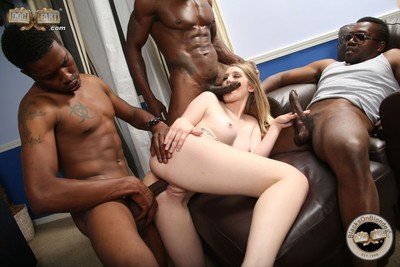 Summer carter gets fucked in group