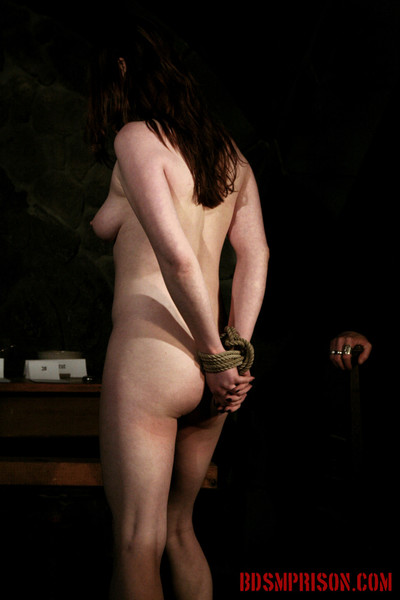 Sophie is punished daily by three prison guards shes been senten