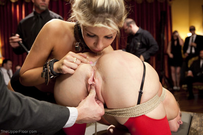 Carmen caliente and marsh mellow get manhandled and worked over by mr. bailey and the