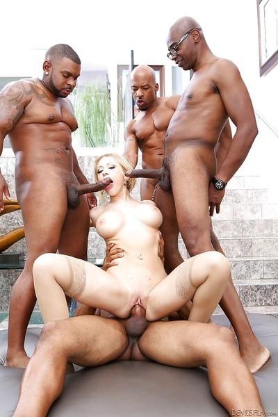 Kagney Lynn Karter love to feel massive swarthy dicks in her holes