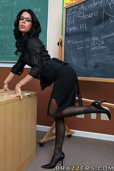 Whereas Mrs Tabitha is teaching math, Keiran and a classmate are passing notes commenting on the daddy s largest tits. As a prank, Keiran goes up to the front of the class and pretends to hump the teacher. That guy takes the joke a bit to far by taking ou