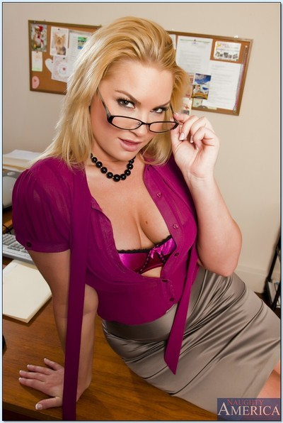 BBW MILF teacher Flower Tucci showing off massive ass and fingering pussy