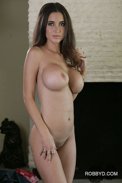 Graceful hotty with amazing round boobies slipping off her clothes
