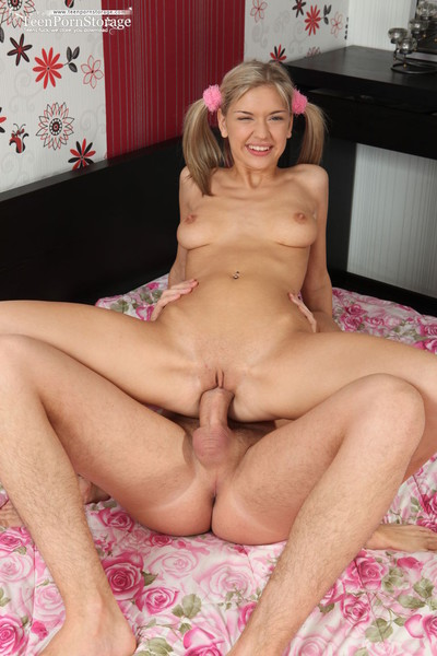 Teen playgirl banged