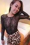 Sexy filipina girl in sexy pants earns creampie