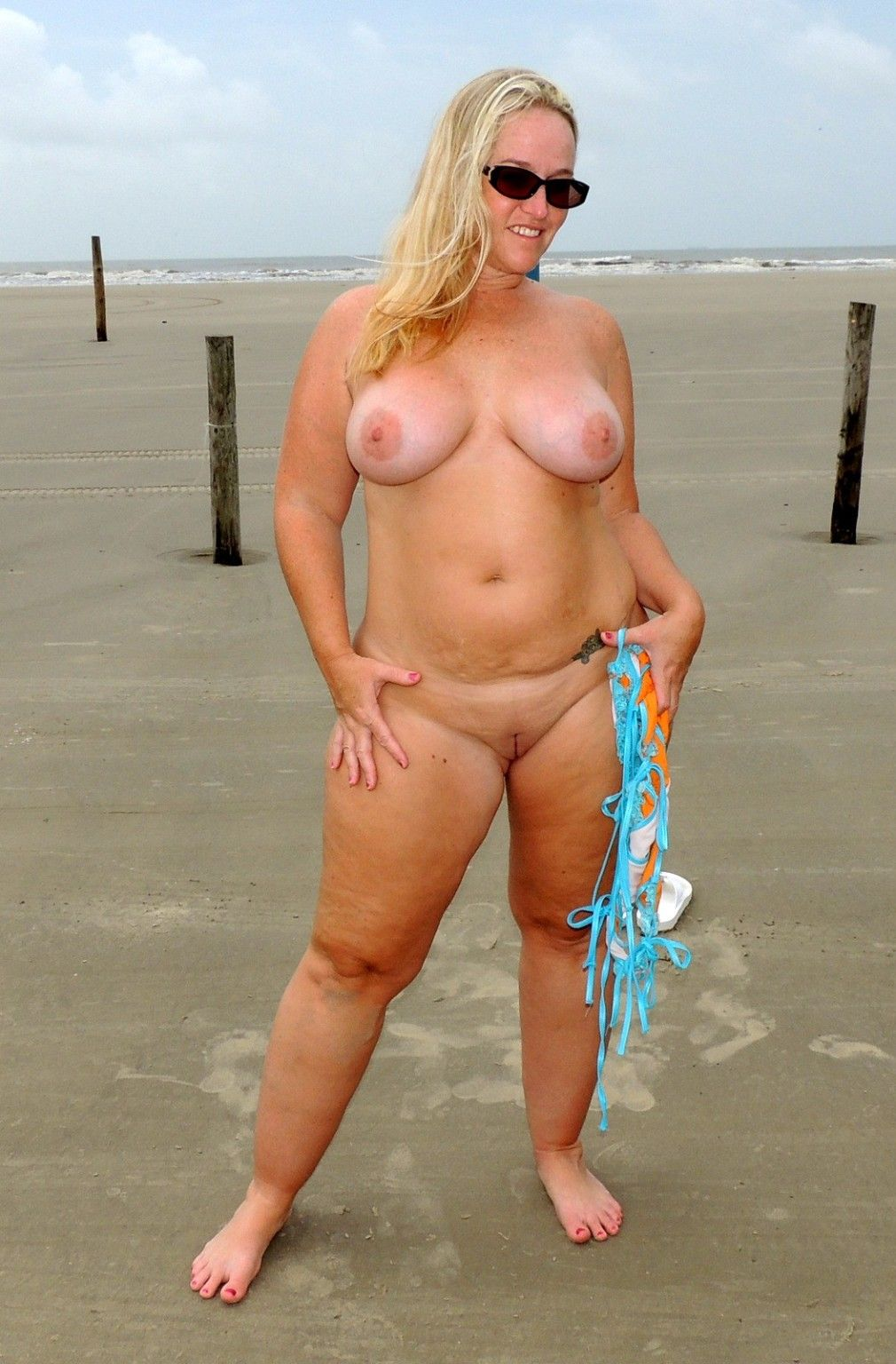 Wife naked beach are