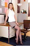 Shauna skye sucks and fucks her coworker in the office