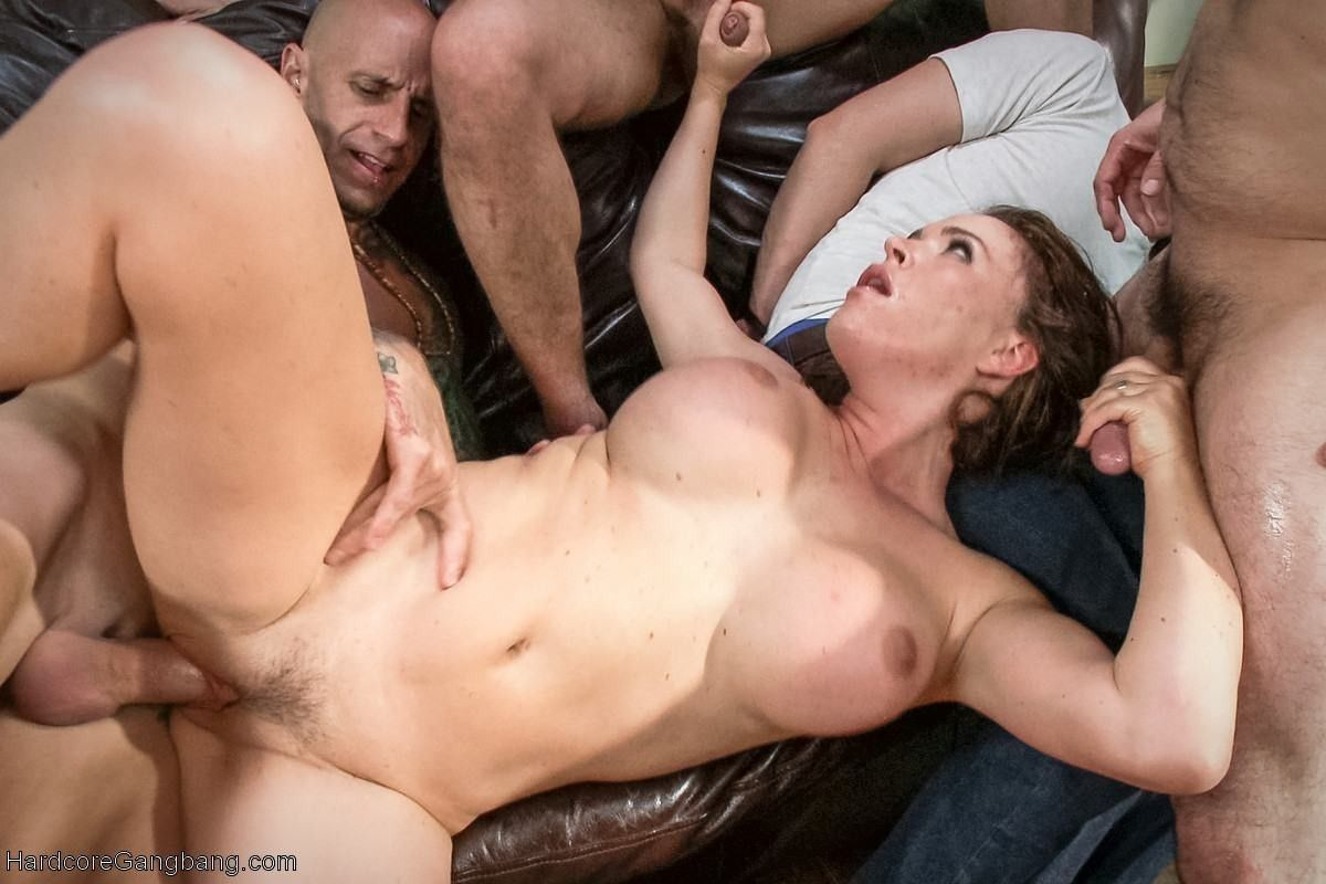 Horny cfnm bitch a cumshot