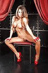 Juggy babe Madison Ivy getting rid of her provocative dress and underclothes