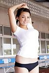Ai Shinozaki Chinese with big melons loves all species of sports