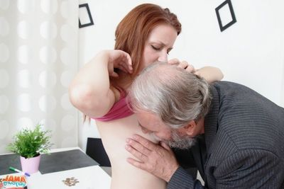 [Old Young Anal] Sveta is a infant and despondent woman, and is reading a magazine,