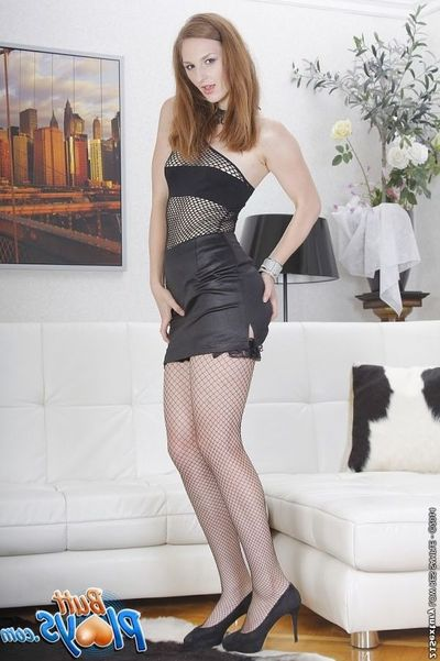 European princess Irina Pavlova enjoys anal obloquy in high heels