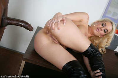 Mariah madysinn gains screwed by vast black cock