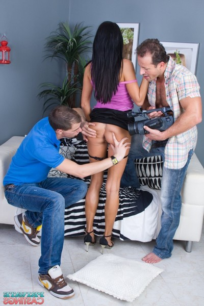 Our casting is elis first time porn scene