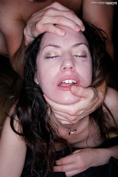 Coed whore Sarah Shevon taking intense smoking of blowjob orifice